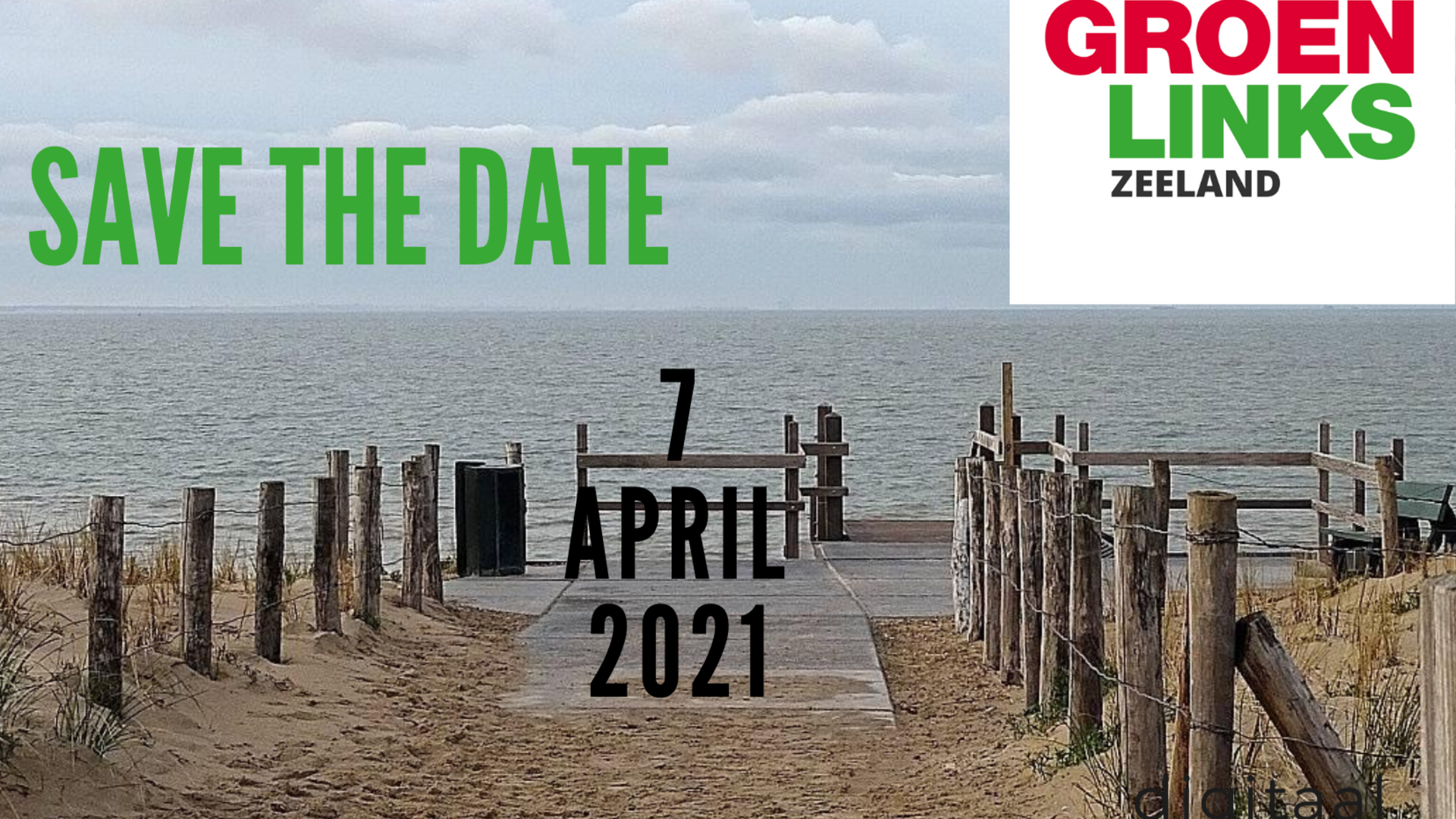 save the date 7 april